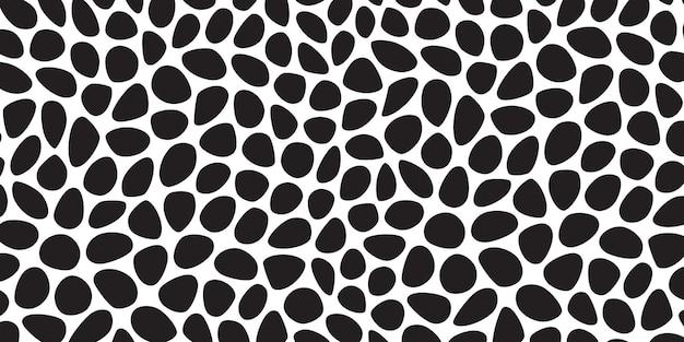 Voronoi stone seamless pattern Free Vector