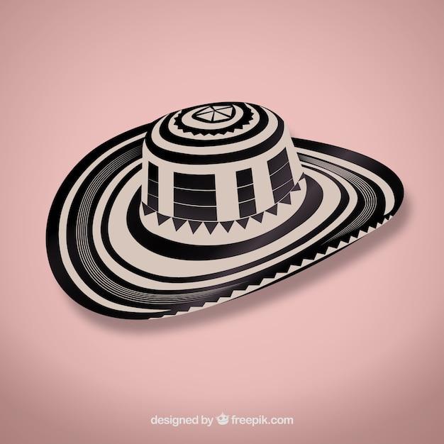 Vueltiao - sombrero vector Free Vector