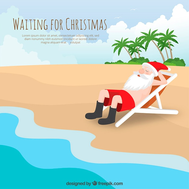 Waiting for christmas Vector | Free Download