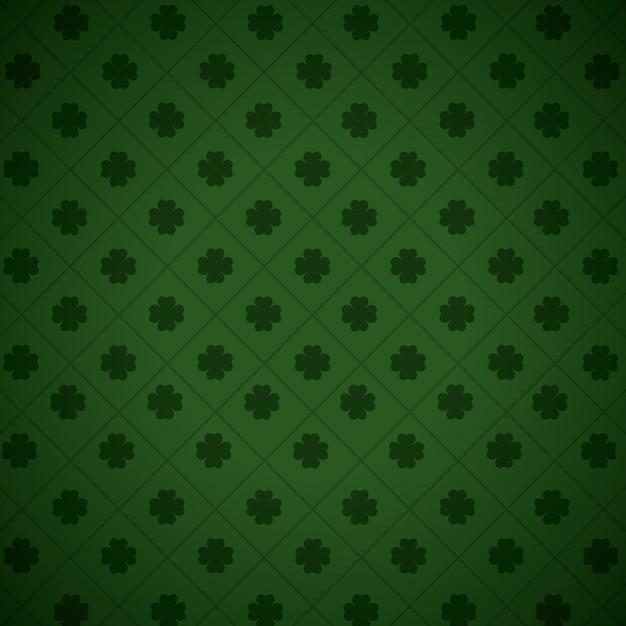 Wallpaper four leaf clover | Premium Vector