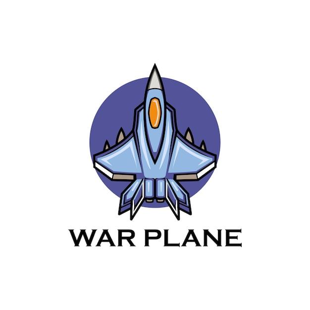 Военный самолет реактивный полет авиация Premium векторы
