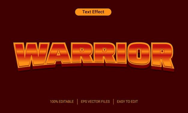 Эффект оранжевого градиента 3d текста стиль Premium векторы