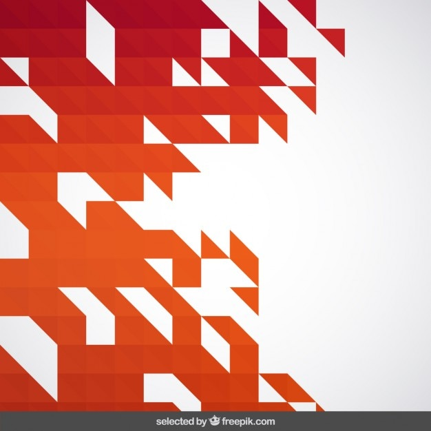 Free Vector Warm Tones Abstract Geometric Background
