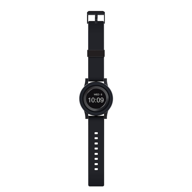 watch design illustration on white background vector premium download rh freepik com vector watch repair vector watch repair