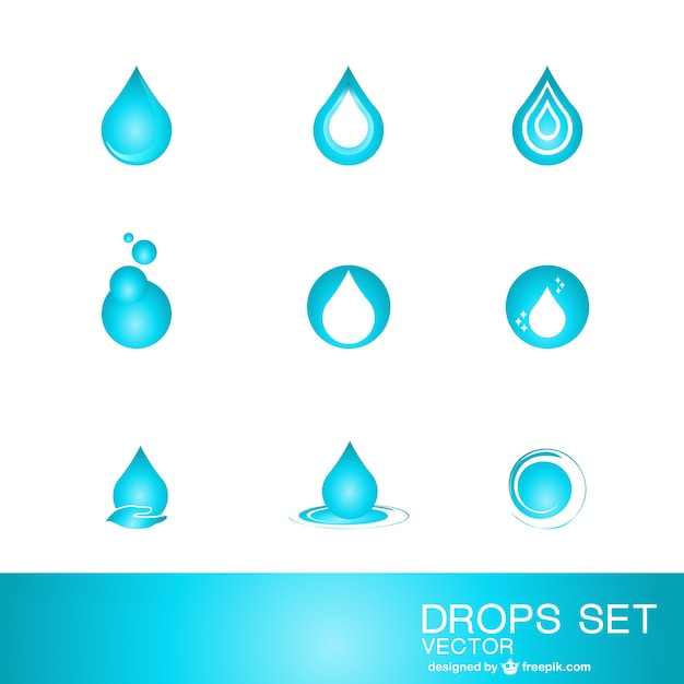 Water Logos Free Download Water Drop Logo Template Free