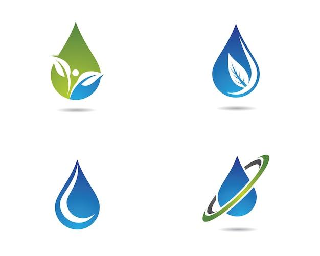 Water drop vector icon Premium Vector
