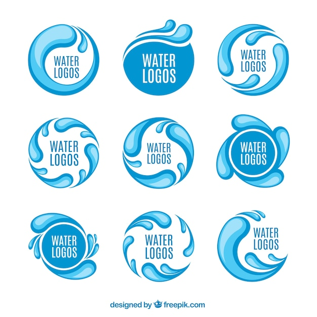 Water Logos Free Download Water Logos Free Vector