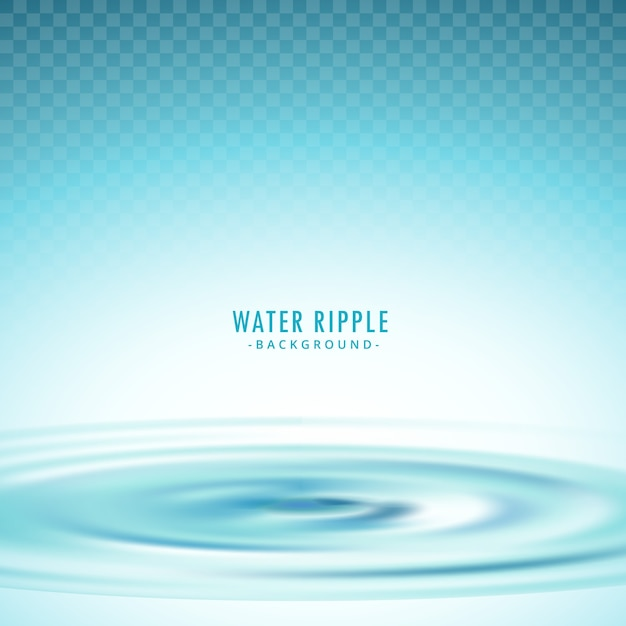 Water ripple background Premium Vector