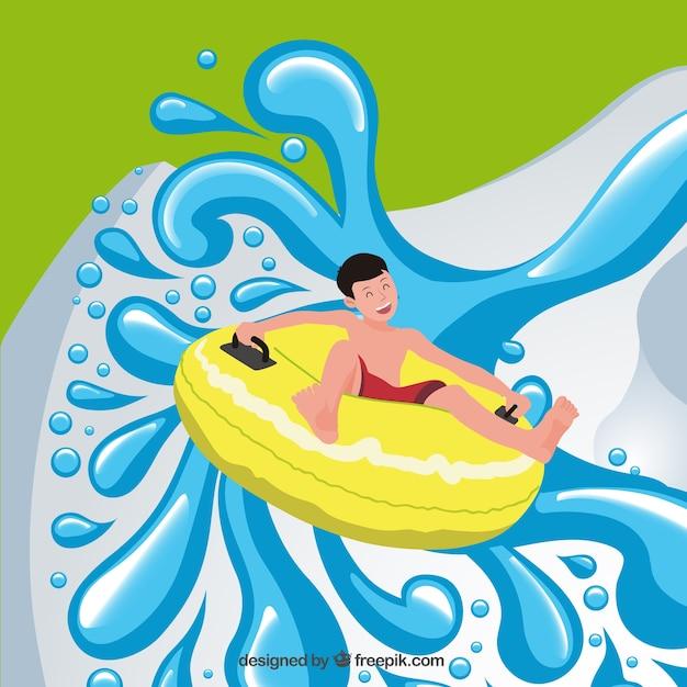 water sledge