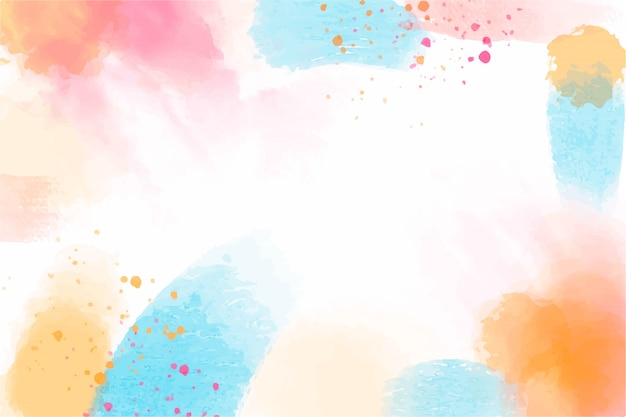 Watercolor abstract background Free Vector