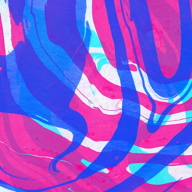 Watercolor abstract marble background Premium Vector