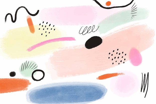 Watercolor background concept Free Vector