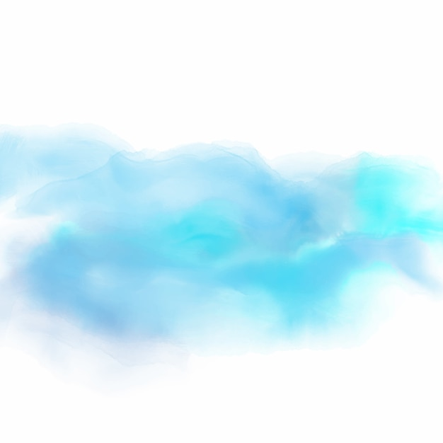 watercolor background in shades of blue vector free download