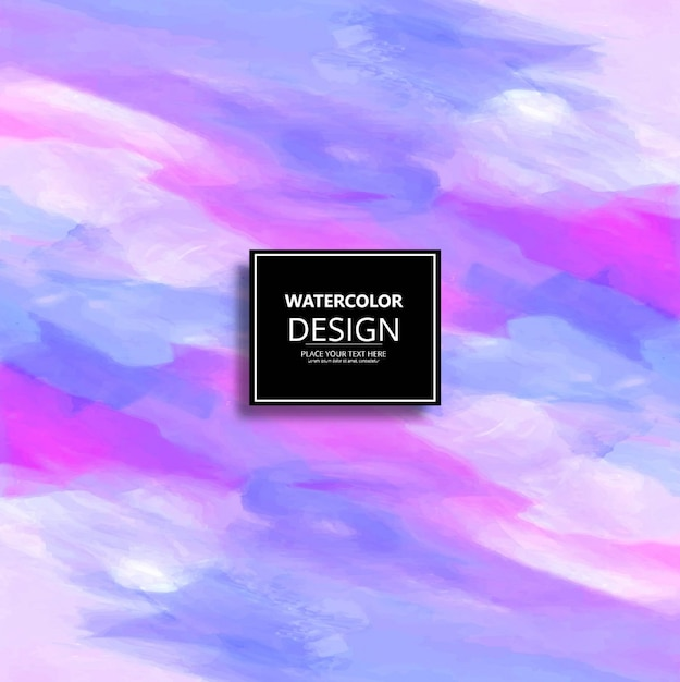 Watercolor background texture in pastel colors