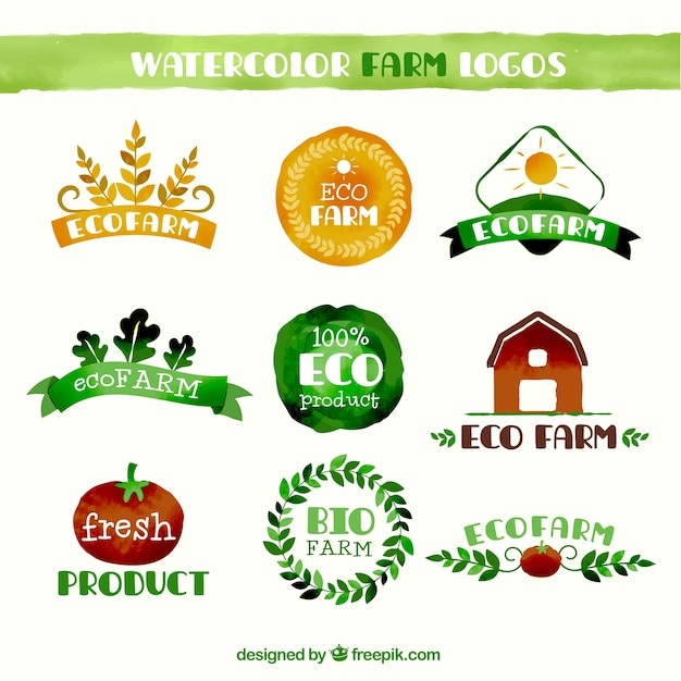 Farming Logo Vectors, Photos and PSD files | Free Download