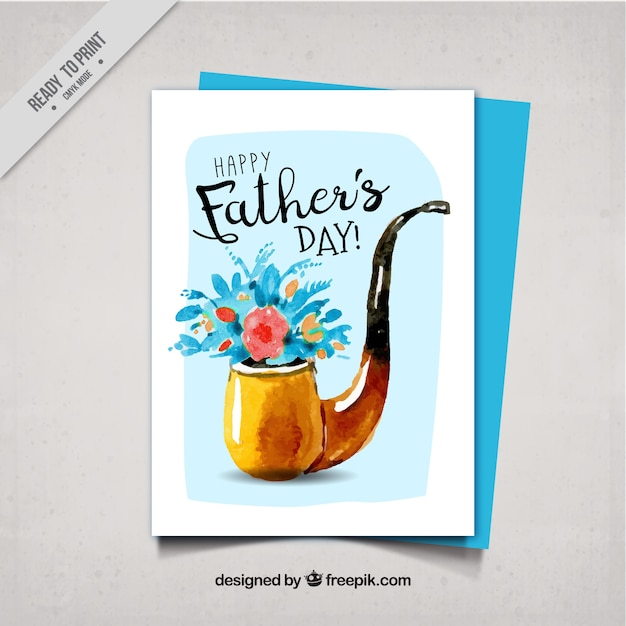 watercolor fathers day printables - 626×626