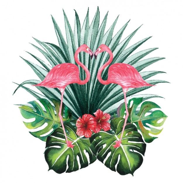 watercolor flamingos decorative design vector free download save the date clip art christmas save the date clip art template