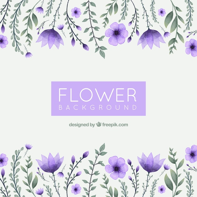 Purple Flower Vectors, Photos And PSD Files