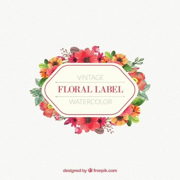 Vintage Flower Design 104