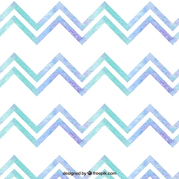 Watercolor geometric pattern Free Vector