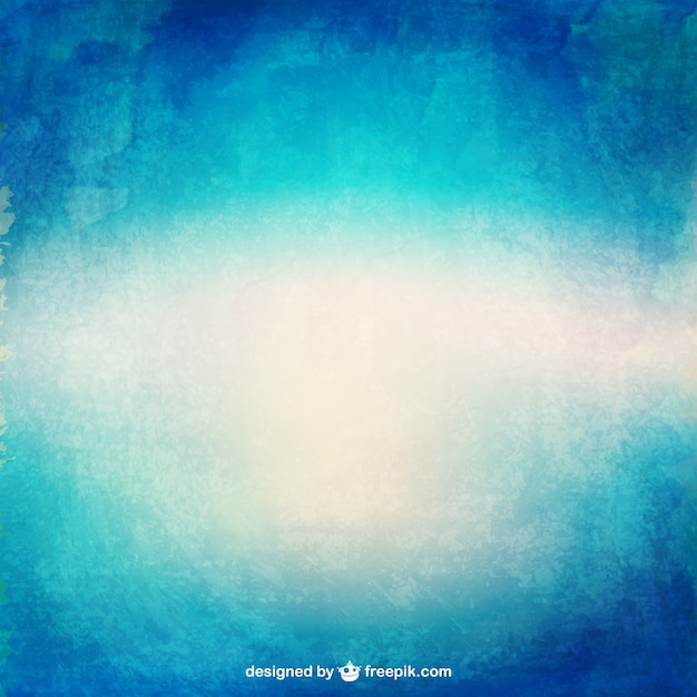 Watercolor gradient texture in blue tones Free Vector