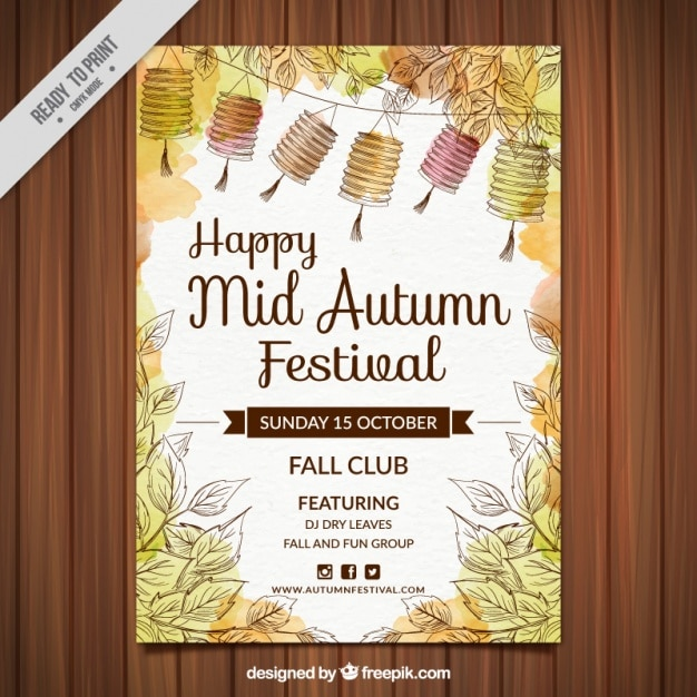 Free Fall Festival Flyer Templates Idealstalist