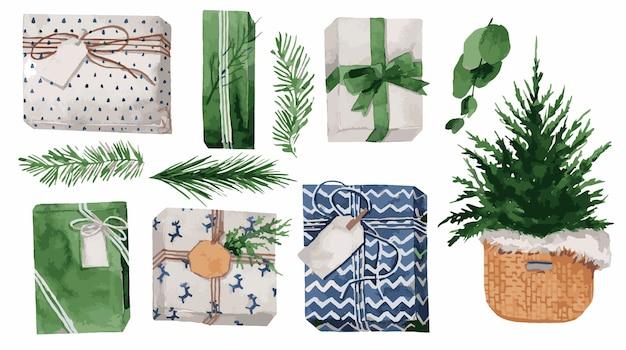 Акварельные иллюстрации осенний венок в богемном стиле с бордовыми пальмовыми листьями Premium векторы