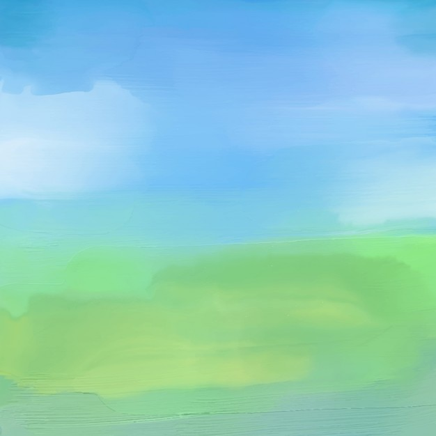 Watercolor painted background of an abstract\ landscape