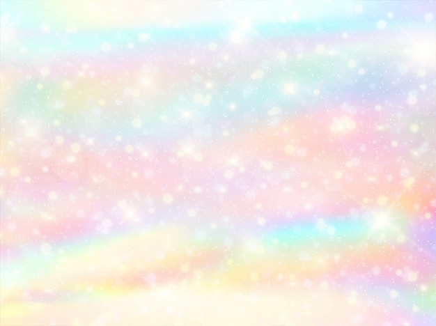 Watercolor rainbow bokeh background Vector | Premium Download