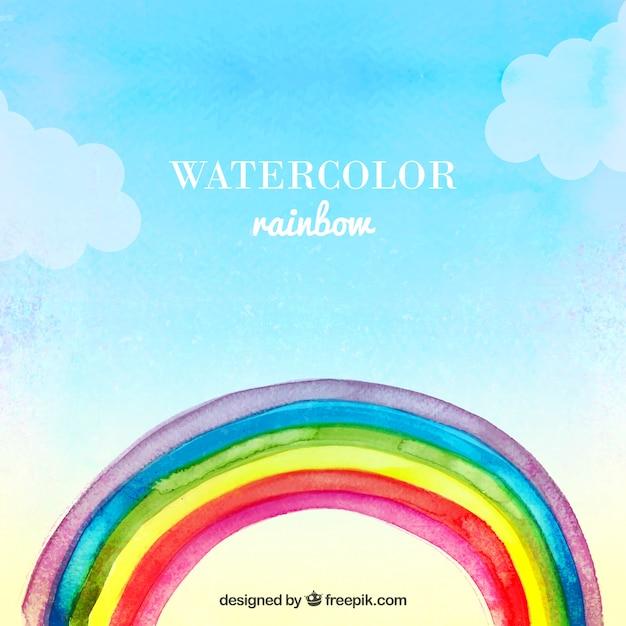 watercolor rainbow vector free download clip art of rainbows and unicorns clip art of rainbows and children