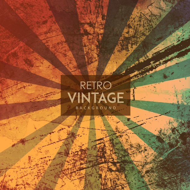 watercolor retro vintage background vector free download