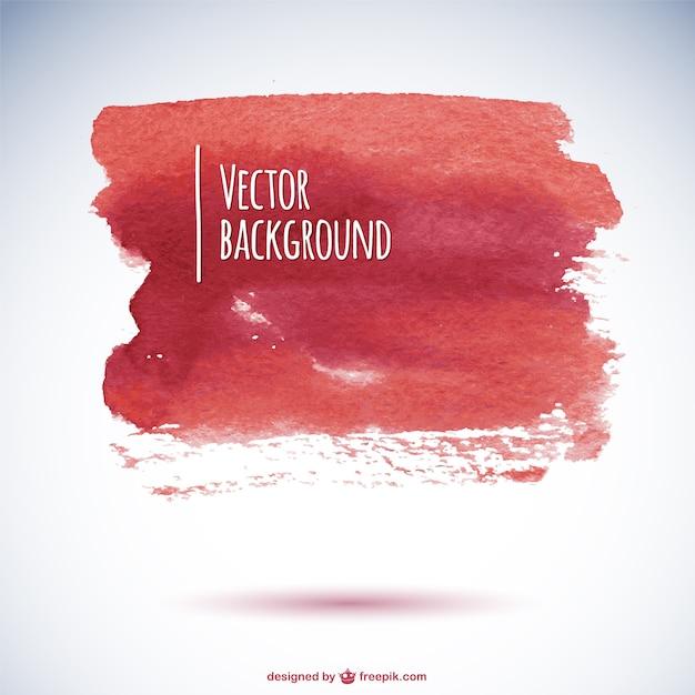 Watercolor splatter background Free Vector