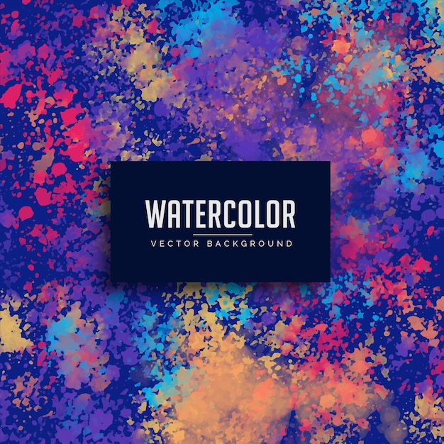 Watercolor splatter grunge background Free Vector