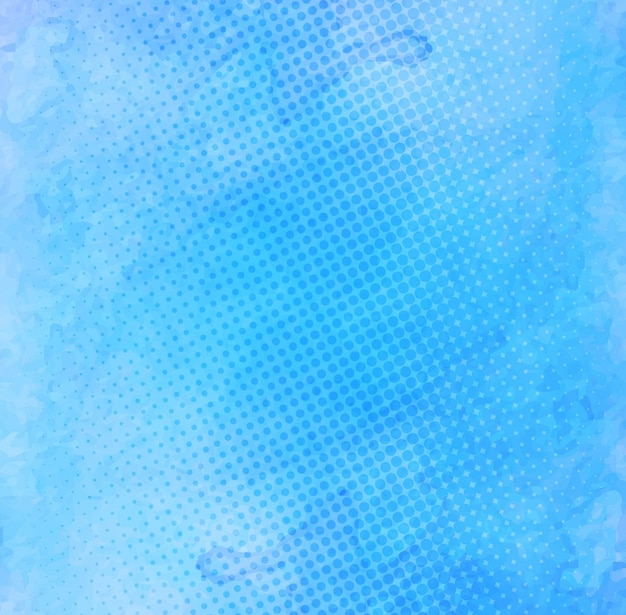 Watercolor stain texture, blue color