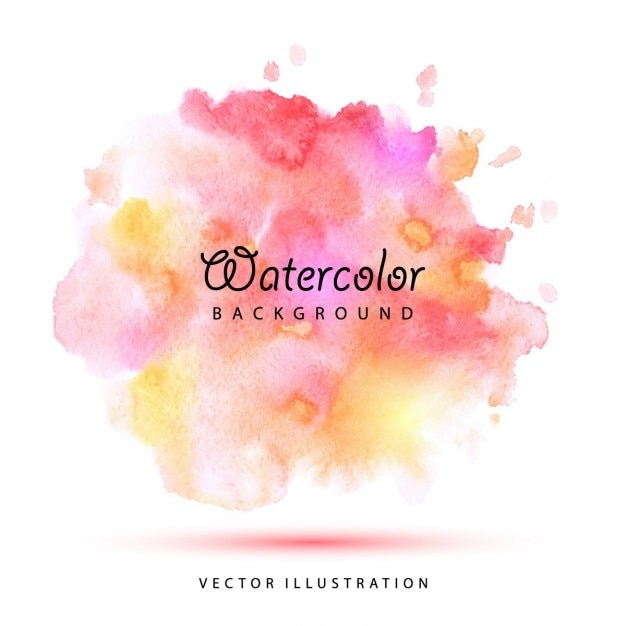 Watercolor stains background Free Vector