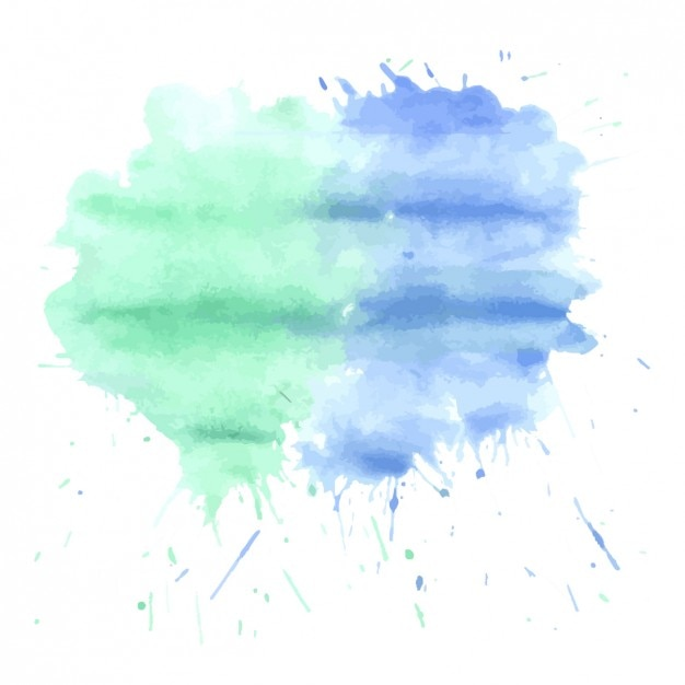 Grunge Stain Collection: Watercolor Stains Vector