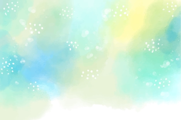 Watercolor style hand-painted background Premium Vector