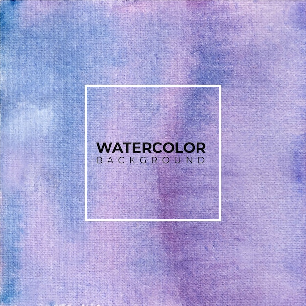 Watercolor texture background in hand drawn Premium Vector