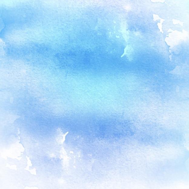 Watercolor texture, blue color Vector | Free Download