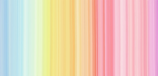 Watercolor texture rainbow background. Premium Vector