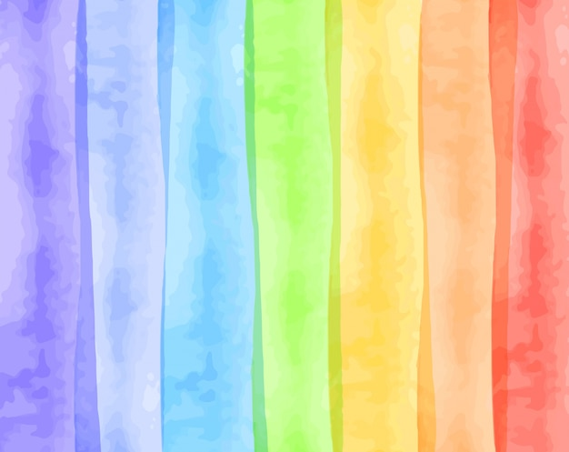Watercolor texture for rainbow shades Premium Vector