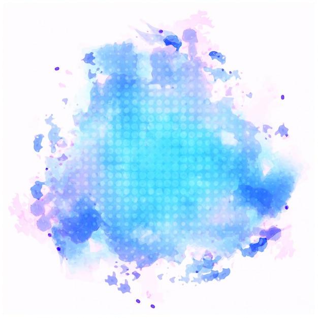 Синий фон акварелью Бесплатные векторы
