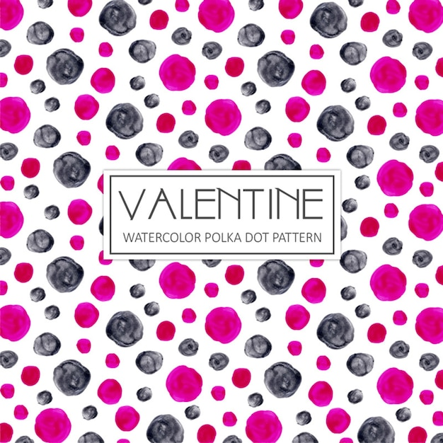 Polka dots vectors photos and psd files free download watercolor valentine polka dot background voltagebd Choice Image