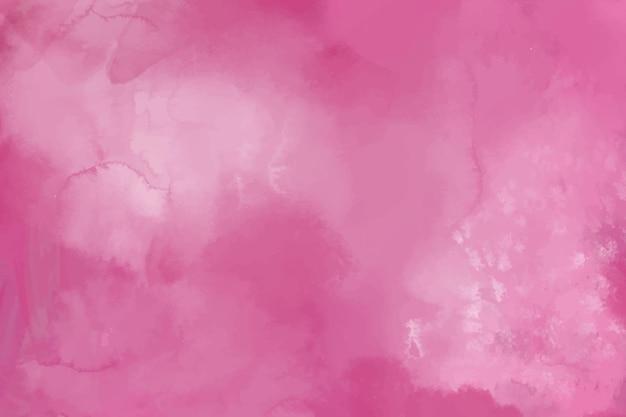 Акварельный фон с розовыми пятнами Бесплатные векторы