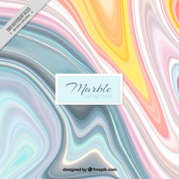 Watery colored abstract background