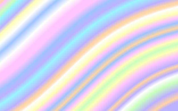 Волна жидкой формы пастельные радужный цвет фона Premium векторы