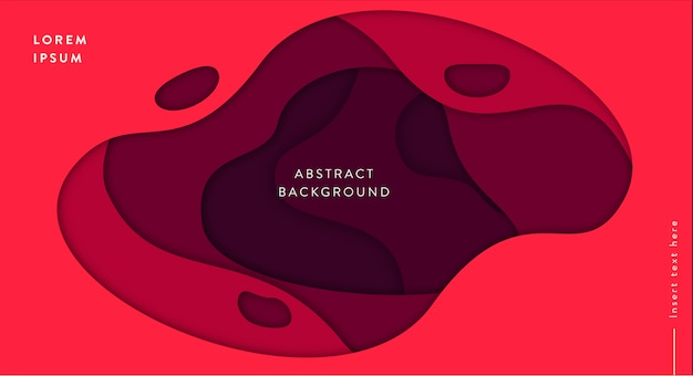 Waves abstract background Free Vector