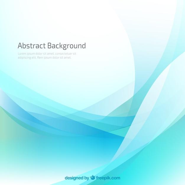 Wavy background in blue tones Premium Vector