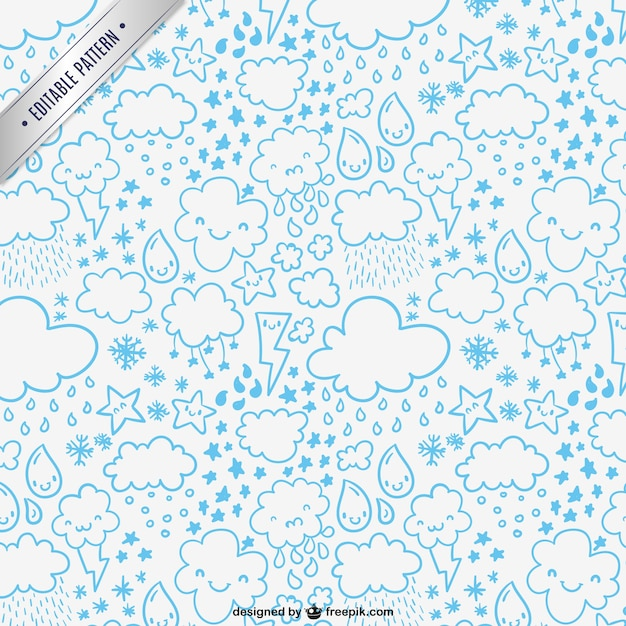 Weather Pattern Vector Free Download Beauteous Weather Pattern