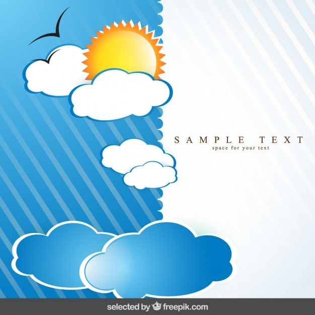 Weather striped background